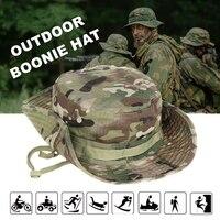 Multicam Boonie sombrero militar balde de camuflaje sombreros ejército caza al aire libre senderismo pesca Sun Protector pescador de táctica de los hombres