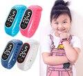 Детские часы в детские часы цифровой водонепроницаемый светодиодный детские часы цифровые часы Montre Enfant Garcon Sport