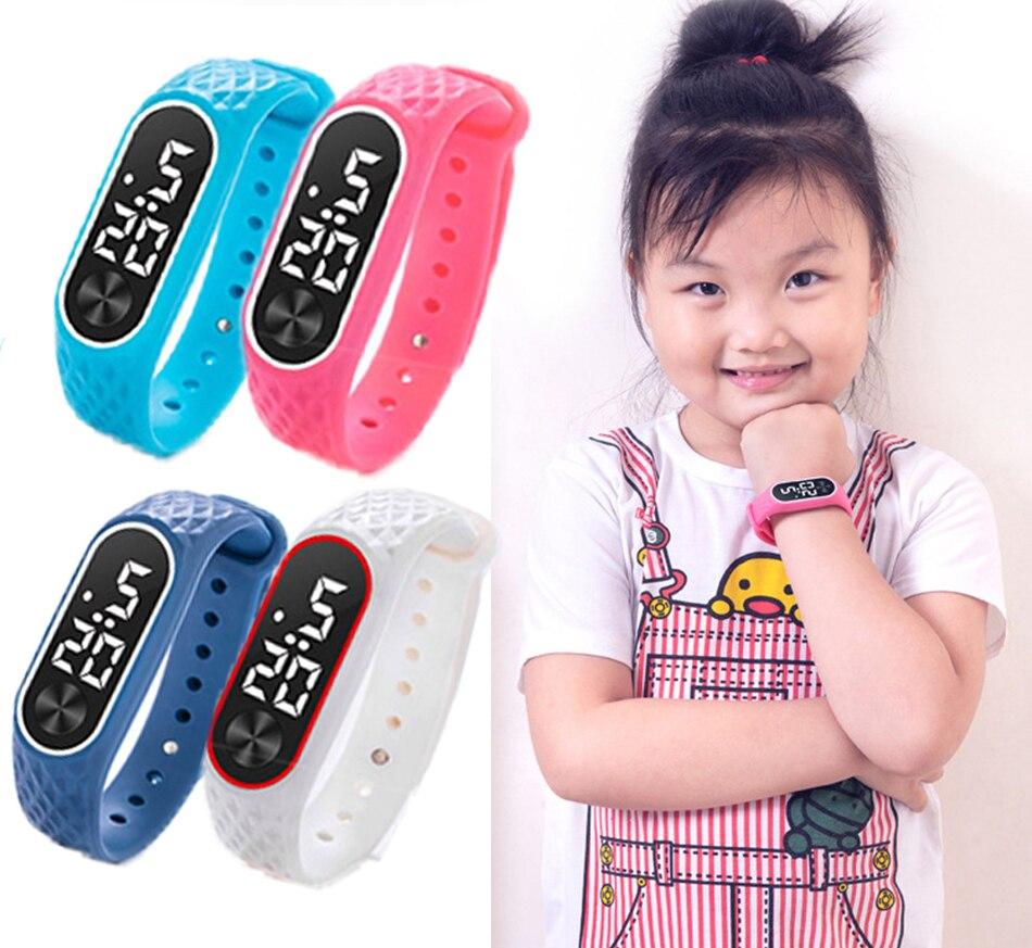Kids Watches In Children's Watches Digital Waterproof LED Children's Watch Digital Clock Montre Enfant Garcon Sport