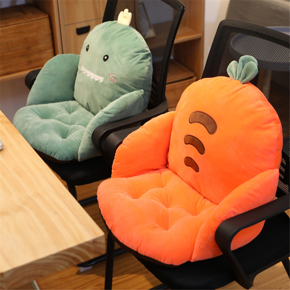 Cute Cartoon Chair Cushion For Home Decor And Office Thicken Seat Pad Sofa Home Decorative Pillow Soft Car Seat Children Gifts