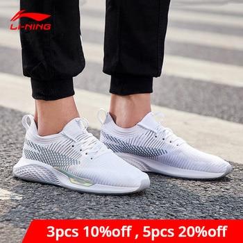 Li-Ning Männer Überschreiten LT Lifestyle Schuhe Die Trend Turnschuhe Mono Garn Unterstützung Futter li ning CLOUD Sport Schuhe AGCN035 YXB149