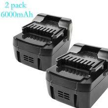 Bonadget 4000mah 6000mah 18v bateria recarregável batteria para hitachi bsl1830 bsl1815x 330067 330068 330139 bateria de ferramentas elétricas