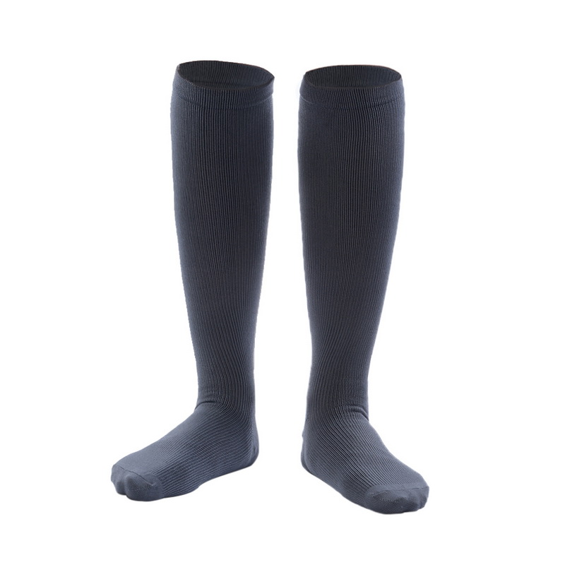 Fashion Unisex Compression Stockings Nylon Relief Pain Socks Knee High Leg Support Stretch  Circulation Knee Protection Socks