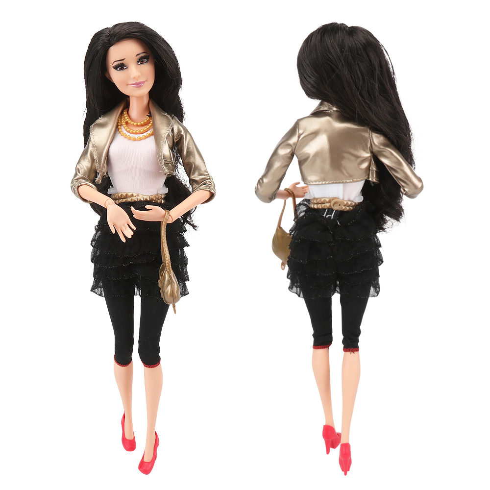 Original Brand 30CM Doll 1/6 BJD Movable Joints Fashion Dolls Kids Toys Children Playhouse Best Gifts For Girls