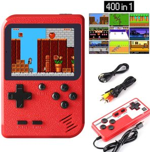 400 in 1 Handheld Games Retro Mini Game Player Game Console Support Two Players & Playing on TV Gift for Kids And Adults