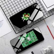 PC+TPU cases for iphone 11 Tempered Glass cover Lucky Shamrock Fashion for iphone se2020 7 8 plus X XS XR XR MAX(China)