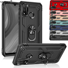 Business Case For Huawei Honor 10 Lite 20 9X Pro Kickstand Armor Shockproof Cover For Huawei P Smart Pro 2019 Z 8S 8A Funda