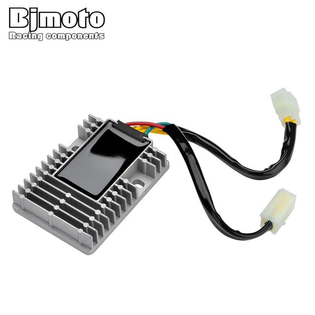 BJMOTO YHC114 Motorcycle Voltage Regulator Rectifier For KYMCO Xciting 250 300 500 Downtown 125 200 300 People 125 200 250 300