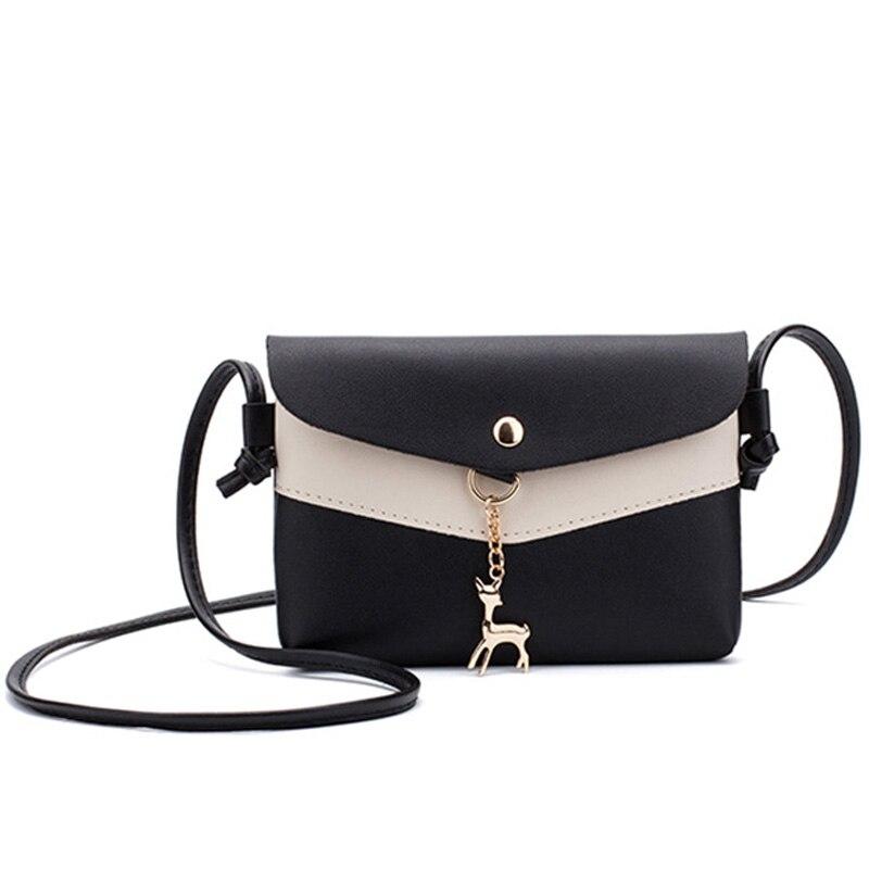New Women handbags fashion waterproof Quality Imitation lether Women shoulder bag corssbody bag casaul Patchwork color Women bag