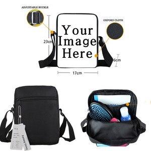 Image 5 - Komik llama baskı mini askılı çanta sevimli alpaka kadın çanta crossbody çanta küçük omuzdan askili çanta kitap çantası hediye