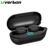 H6 Wireless Earphone Bluetooth V5.0 Sports Wireless TWS Headphone LED Display Waterproof Stereo Earbuds With Microphone Headset