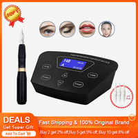 BIOMASER HP100P300, Перманентный макияж, ротационная машинка для бровей, тату, наборы, профессиональная ручка для бровей, подводка для глаз, губ, тату...