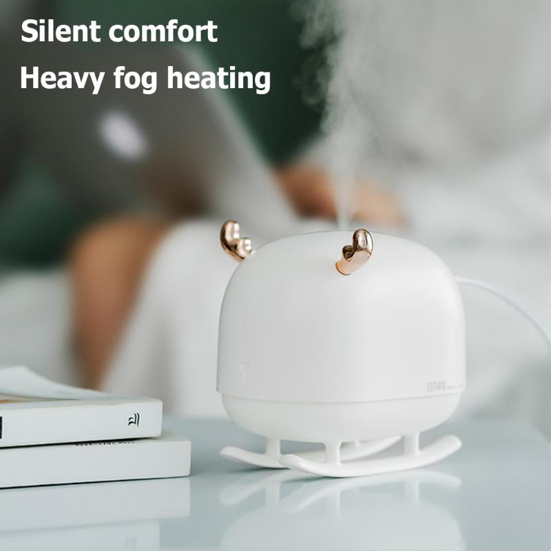 Cartoon Air Humidifier Electric Aroma Air Diffuser Essential Oil Aromatherapy Durable Cool Mist For Household Maker