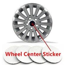20 40 100 pces 65mm ou 56mm centro da roda hub tampões decalques logotipo jantes capa à prova de poeira emblema adesivo estilo do carro emblema acessórios