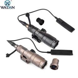 WADSN страйкбол Surefir M300 M300B мини-разведчик светильник светодиодный 280 люмен оружие Тактический фонарь вспышка светильник Открытый охотничий в...