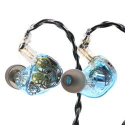 Hieaudio Legacy 3 2BA + 1DD Hybrid Triple Driver In Ear Monitor для аудиофилов