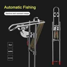 Foldable Automatic Fishing Rod Bracket Double Spring Adjustable Fish Pole Holder Mount Sensitivity Telescopic Tackle