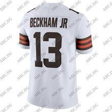 Jersey Cleveland Beckham Customized 4XL Stitch White Youth Kid Vapor-Limited Jr. Odell