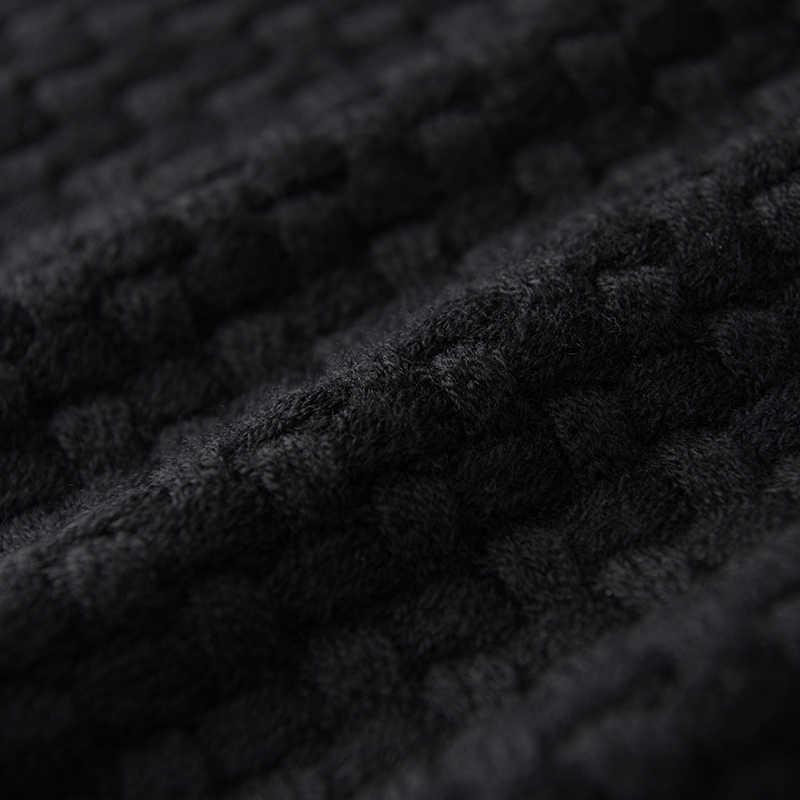 양모 망 럭셔리 3d 자카드 니트 라운드 칼라 남성 가을 겨울 슬림 맞는 스웨터 남자 플러스 크기 4XL