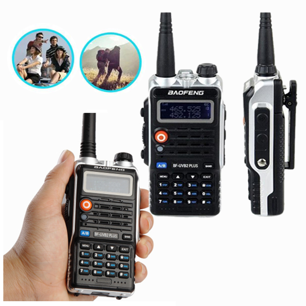 Walkie-Talkie Walkie Baofeng BF-UVB2PLUS VHF/UHF Dual Band Two Way