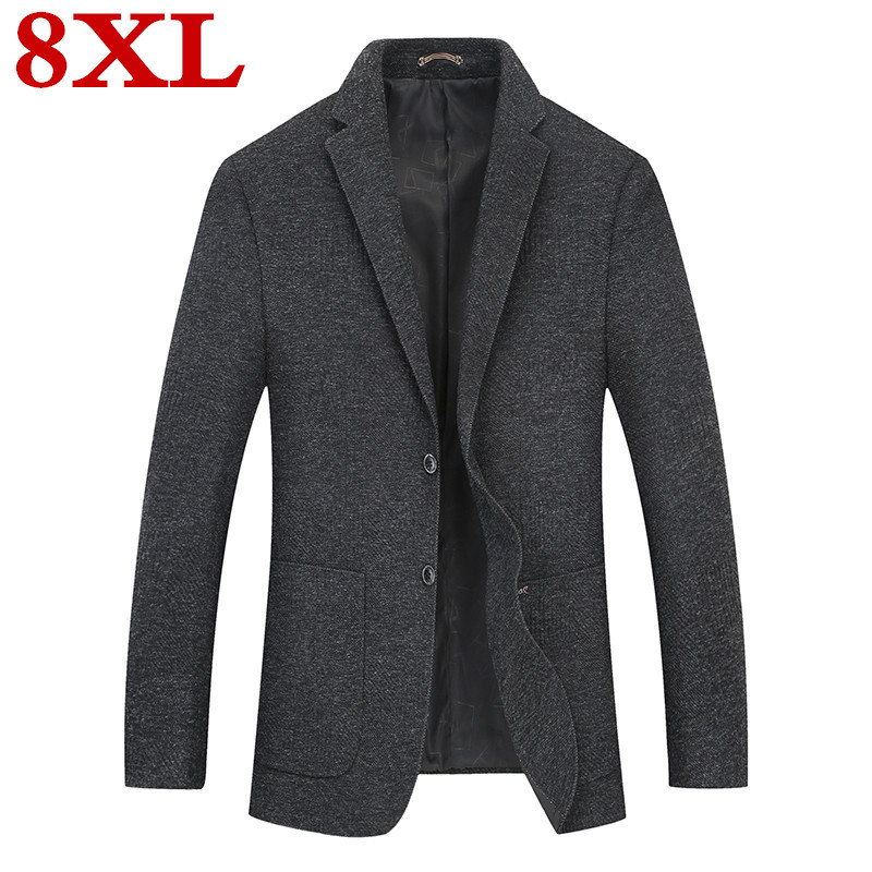 New 2020 Plus Size  8XL 7XL 6XL 5XL Mens  Fashion Blazer Suit Jacket Male Blazers Mens  Business Casual Coat