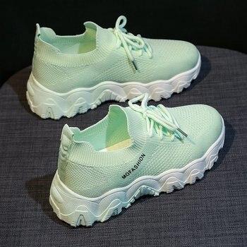 2020 Women Running Shoes White Pink Cheap Sneakers Woman Cushioning Platform Breathable Wave Sports Triple-S Walking Shoes Girls li ning men s running shoes cushioning breathable lining light weight sneakers sports shoes li ning arbm031
