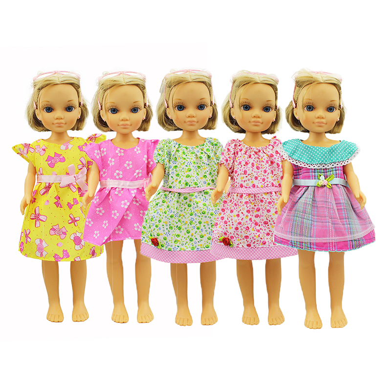 5 Colors Dress Doll Clothes For Sharon Doll And Nancy Doll Accessories
