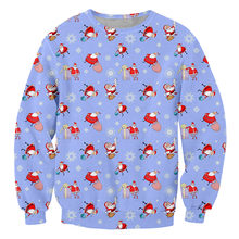Свитшот ifpd мужской с 3d принтом в виде Санта Клауса модная