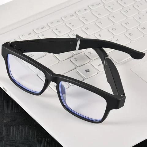 K3 Bluetooth 5.0 Wireless Smart Glasses Audio Music Navigation Sport Headset Eyewear Anti-Blue Light Intelligent Call Sunglasses