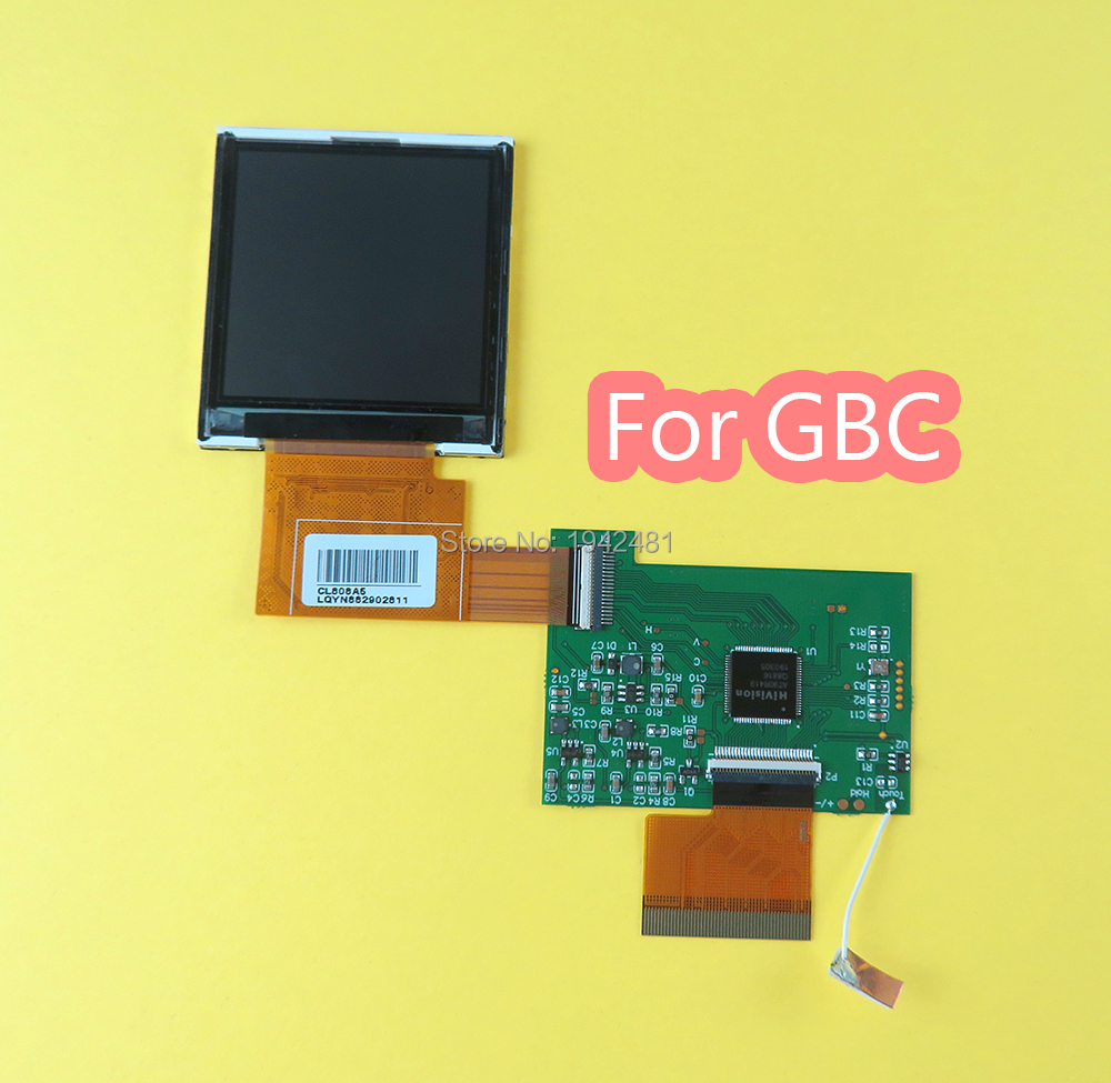 For Nintend GBC High Light Screen LCD Modification Kit Plug And Use For GBC Highlit Screen LCD OEM Backlit Brighter Kit