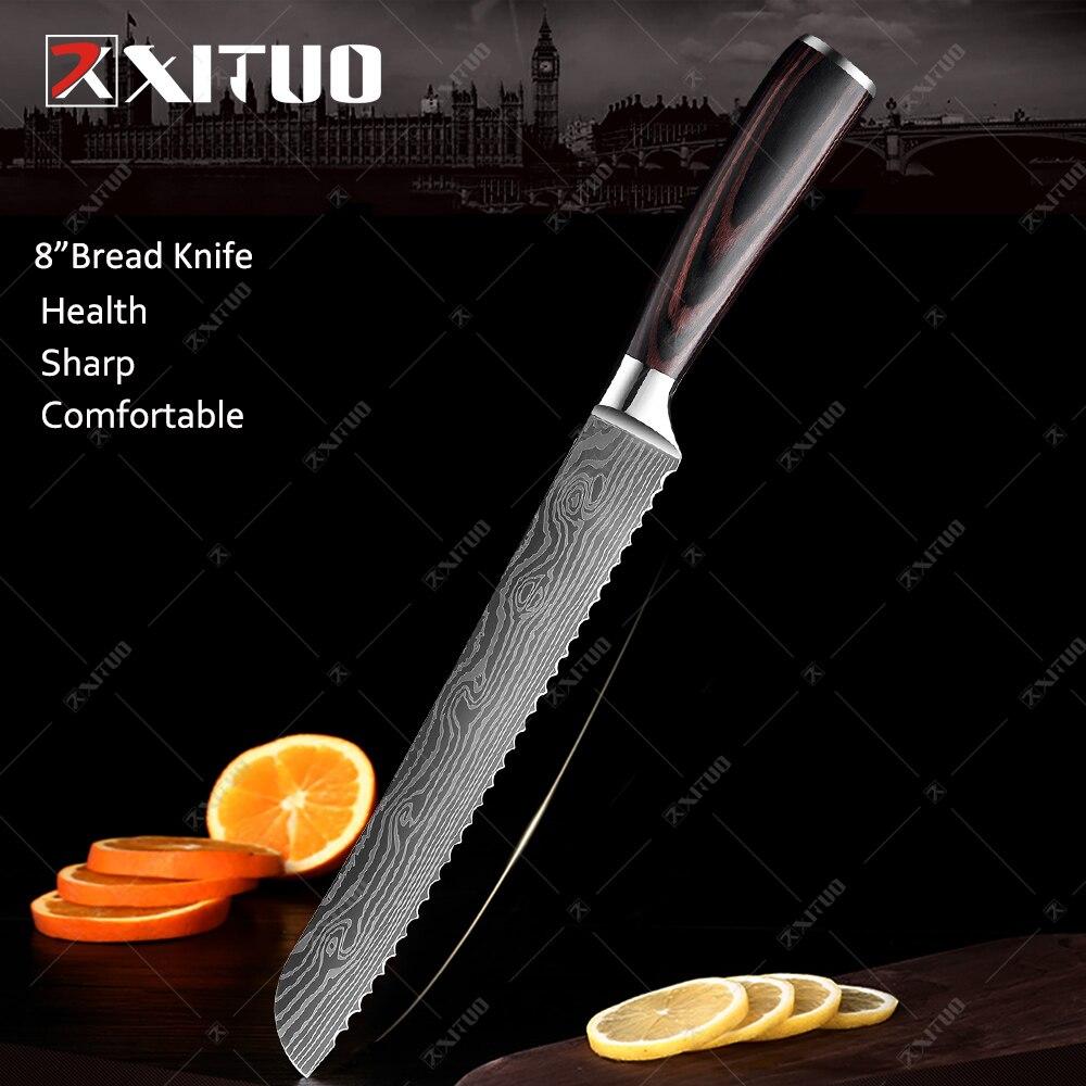 8 in Bread knife