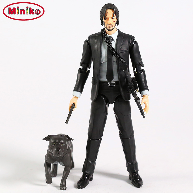 NEW Movie John Wick Keanu Reeves Mafex 070 085 John Wick Action Figure Collection Model Kids Toy Doll