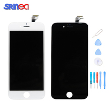 100% Tested For iPhone 6 Plus 6p A1522 A1524 A1593 LCD Display Screen Touch Screen Digitizer Assembly No Dead Pixel Replacement 100% tested working lcd for iphone x lcd display touch screen replacement parts no dead pixel