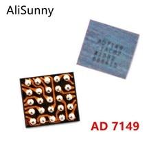 Alisunny 10 peças ad7149 u10 ic, para iphone 7 7plus 7g touch home botão retorno ic peças de reposição