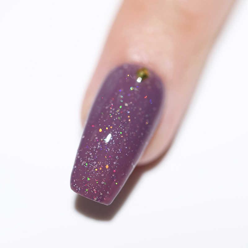 Ur Sugra 7.5 Ml Holografische Glitter Gel Nagellak Kleur Uv Gel Semi Permanente Soak Off Nail Art Gel Lak manicure Ontwerp Led