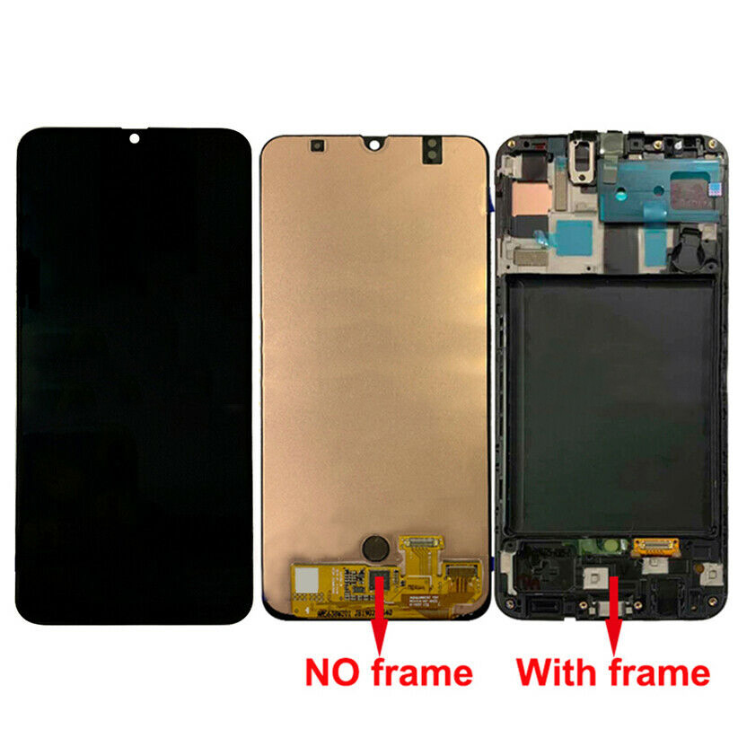 Original Super AMOLED 6.4 LCD For SAMSUNG Galaxy A50 A505 A505F LCD Display Touch Screen Digitizer frame For Samsung A50 LCD image