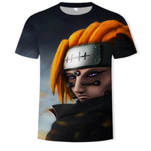 New fashion anime Dragon Ball series 3D printed T-shirt summer men's & women's short-sleeved boys & girls plus size shirt