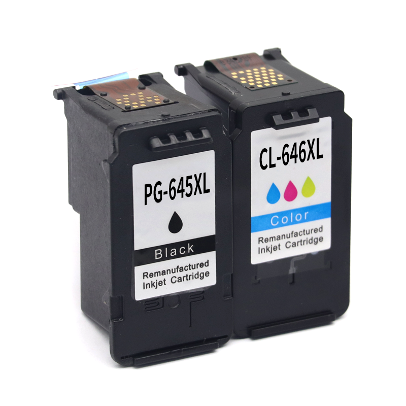 2Pcs PG645 PG645XL PG-645 CL646 CL646XL Compatible Ink Cartridges For Canon Pixma MG2460 MG2560 MG2960 MG2965 MG 2460 MG2500 image