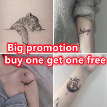 Little Tiger Tattoo Sticker Temporary Tatoo  Art  Anime Tattoo  Fake Tattoo for Woman Lovely Halloween Tattoos