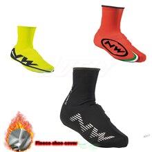 2019 nuevo NW térmica de invierno protector para calzado de Ciclismo deporte Mans bicicleta MTB bicicleta zapatos Cubre bicicleta cubrezapatos Covers Ciclismo para hombre mujer