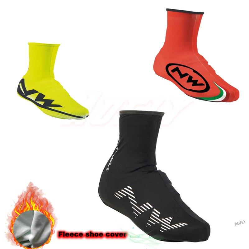 2019 nouveau NW hiver thermique cyclisme chaussure couverture Sport Mans vtt vélo chaussures couvre vélo couvre-chaussures Cubre Ciclismo pour homme femmes