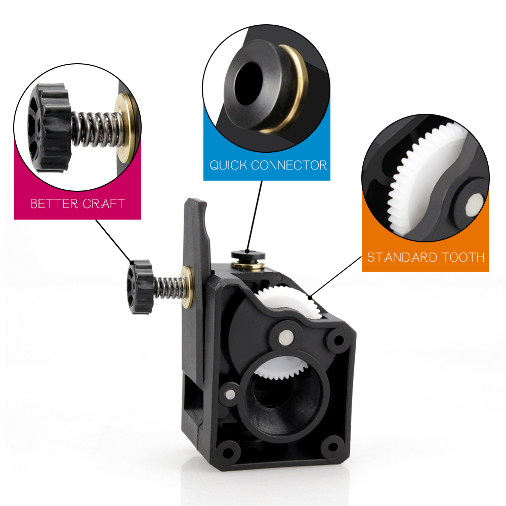 3D Printer Parts BMG Extruder Clone Dual Drive Extruder for 3d printer CR10 1