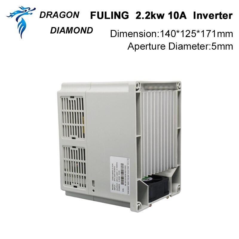 VFD keitiklis 2.2KW dažnio keitiklis 3P 220V / 110V išvestis CNC - Medienos apdirbimo mašinų dalys - Nuotrauka 4