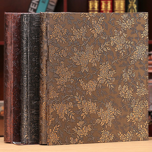 Image 1 - 6 Inch 800 Plastic Pockets Photo Album Family Insert Large Capacity Leather Cover Gallery Family Memory Record Scrapbook Album