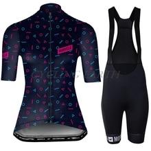 Bib Shorts Jersey Bicycle-Clothes Cycling-Set Morvelo Women Clothing Mtb-Sleeve Ropa-Ciclismo