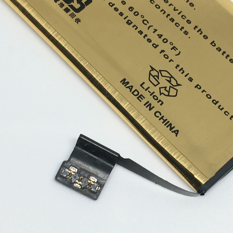 High Capacity 2680mah Gold Replacement Battery For iPhone5 iPhone 5 5S 5C Battery ip5 ip5s ip5c 6