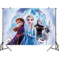 Фоны для вечерние в стиле принцессы Эльзы из мультфильма «Холодное сердце» 125x80 см