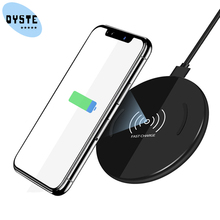 QI Max 15W Wireless Quick Charger For Sumsung Galaxy S10 S9 S8 S7 for note 9 8 7 10W Fast Charging Pad