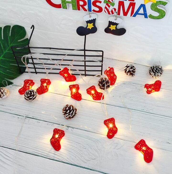 LED lamp string Christmas tree decorative lamp string light 2 m 10 lamp battery box