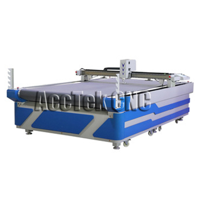 Business Equipment Machine Tools,machina Per Fare Le Scarpe,cardboard Cutting Machine,auto Feed Oscillating Knife Cnc